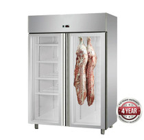 MPA1410TNG Large Double Door Upright Dry-Aging Chiller Cabinet 148mm Width