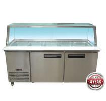 PG180FA-YG Cold Salad & Noodle Bar 5 x 1/1 GN Pans