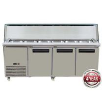 PG210FA-YG Cold Salad & Noodle Bar 6x1/1 GN Pans 2140mm W x 790 D x 1250 H