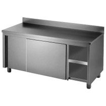 DTHT-1500B-H Kitchen Tidy Workbench Cabinet with Splash back 1500mm Width