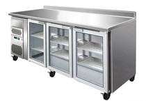 CM20G TROPICALISED Three Door Bar Fridge 543Lt 2005mm W x 600 D x 1080 H