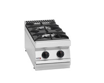CG7-20H Fagor 700 Series Natural Gas 2 Burner Boiling Top with Cast