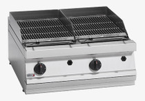 BG7-10 Fagor 700 Series Natural Gas 2 Grid Grill