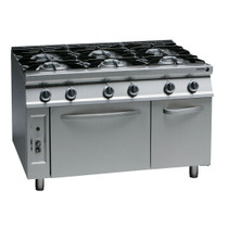 CG9-61H Fagor 900 Series Natural Gas 6 Burner
