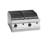 BG7-10LPG Fagor 700 Series LPG Charcoal 2 Grid Grill