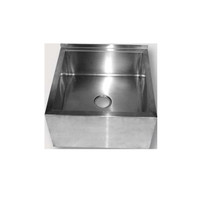 FMS-H Stainless Steel Floor Mop Sink 570mm W x 570 D x 300 H