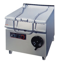 ZH-TS Electric Tilting Braising Pan 12KW 80L 3 phase