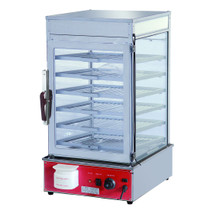 Heavy Duty Electric Steamer Display Cabinet 1.2kw - MME-500H-S