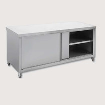 STHT-1200-H Quality Grade 304 S/S Pass Through Cabinet 1200mm Width