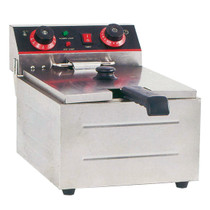TEF-101KW Electmax Single Tank Electric Benchtop Fryer 3kw