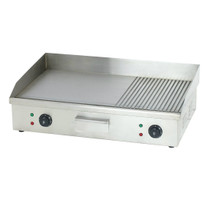 TEG-822DKW Stainless Steel Electric Griddle