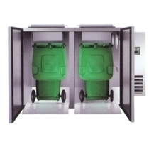 WBC2-240 Refrigerated Solid Waster Cooler with 2 Pcs