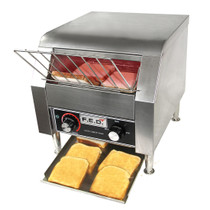TT-300KW Electric Conveyor Toaster for 2pcs of bread 375mm W x 420 D x 385 H