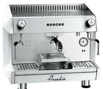 ARCADIA-G1 Professional Espresso machine SS polish white 1 Group