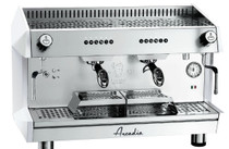 ARCADIA-G2 ARCADIA Professional Espresso machine SS polish white 2 Group
