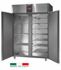AF14PKPLUSMBT Mastercool 1400 Litre Italian Made Upright Stainless Steel Freezer