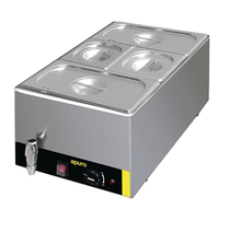 Bain Marie with Tap & Pans (S047-A)