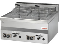 Modular 2 x 8 Litre Counter Top Gas Deep Fryer 60/60FRG