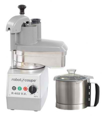 R402 V.V. Robot Coupe Food Processor 4.5 Litre Bowl with Variable Speed includes 4 discs