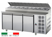 Mastercool 3 Door Undercounter Pizza/Salad Prep Fridge TF03MIDGNSK