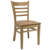 Florence Chair - Natural - Timber Seat