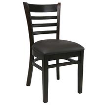 Florence Chair - Chocolate - Vinyl Seat (Choc)