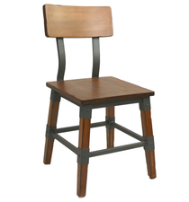 Genoa Chair - Timber Seat/Backrest