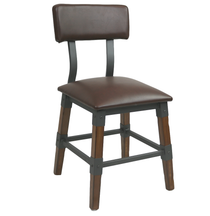Genoa Chair - Vinyl Seat/Backrest