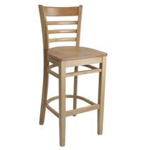 Florence Barstool - Natural - Timber Seat