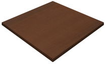 Gentas Walnut Duratop 800x800 mm Square