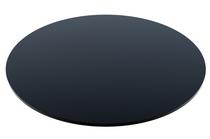 Compact Laminate Black Duratop 800 Dia Round