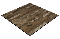 CL Rustic Block Wood 600x600 mm Square - 12mm