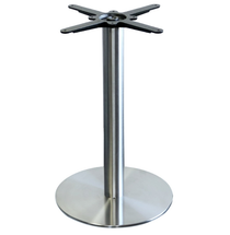 Alexi S/S 450mm Dia. Table Base