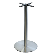 Alexi S/S 600mm Dia.Bar Table Base