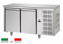 Mastercool 2 Door Stainless Steel Counter Fridge TF02MIDGN