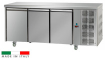 Mastercool 3 Door Stainless Steel Counter Freezer TF03MIDBT