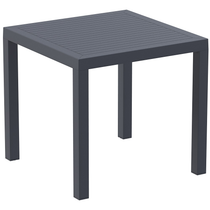 Ares 80 Table (800x800) - Anthracite
