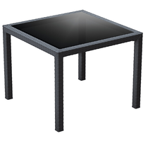 Bali Table 940x940x750H - Anthracite