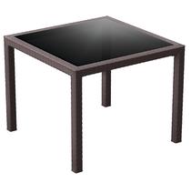 Bali Table 940x940x750H - Chocolate