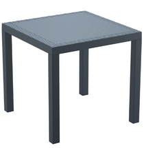 Orlando Table 800x800x750H - Anthracite