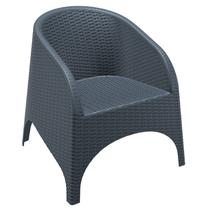 Aruba Tub Chair - No Cushion - Anthracite