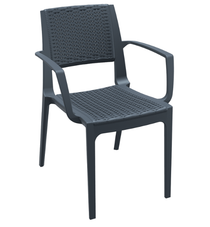 Capri Arm Chair - Anthracite