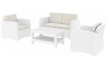 Monaco Lounge Set - White