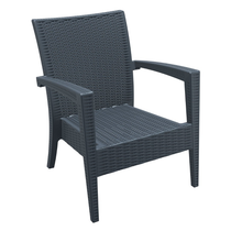 Tequila Lounge Armchair - Anthracite