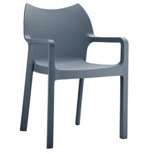 Diva Arm Chair - Anthracite