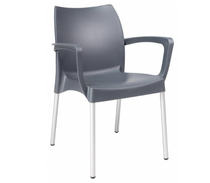 Dolce Arm Chair - Anthracite