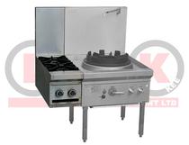 LKKOB2-CL 2 Gas Open Burner Clip onto Gas Wok