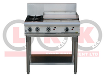 2 LHS Open Burner & 600mm RHS Grill - LKKOB6B