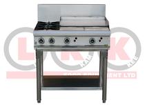 2 Gas Open Burner & 600mm RHS Grill - LKKOB6B