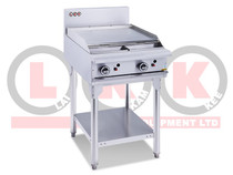 LKKOB4B 2 Burner 600mm Griddle with Legs